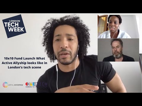 10×10 Fund launch: #BLM and the importance of investor allyship