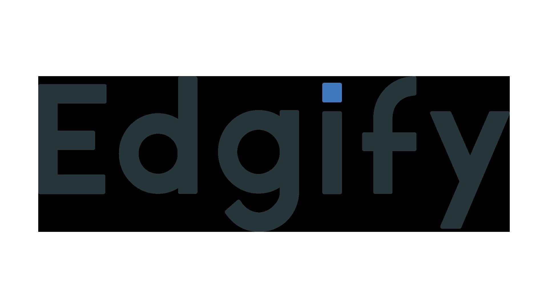 Edgify logo